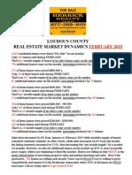 Market Dynamics - Loudoun FEB15