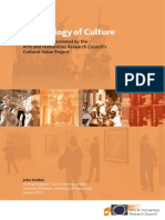Ecology of Culture  (AHRC report)