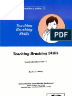 Teaching Brushing Skills