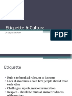 5. Etiquette & Culture