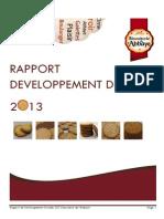 Rapport Developpement Durable 2013 Biscuiterie de l Abbaye PDF