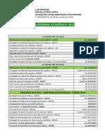 Calendario Academico Mestrado Doutorado Turma 2015