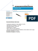 Cable Coaxial Rg