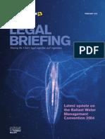 Ballast Water Legal Briefing Feb2015