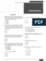 Guía Ingreso UNAM Matemáticas