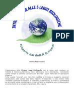 Cinque Leggi Biologiche Introduzione