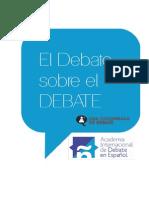 El debate sobre el debate