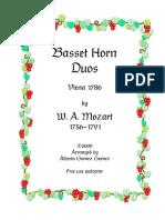 Mozart 2 horns
