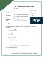 Formulario de Hidraulica de Perforacion y Optimizacion Hidraulica(1)