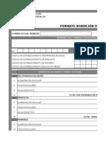Formatos Liquidación Mineduc Guatemala 2015