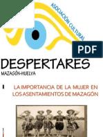 LA IMPORTANCIA DE LA MUJER EN LA CONQUISTA DE MAZAGÓN