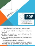 Crônica Um Gênero Tipicamente Brasileiro