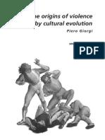 Origen Violencia y Evolucion Cultural