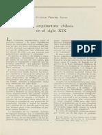 La Arquitectura Chilena en El Siglo XIX .Eugenio Pereira Salas