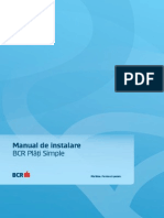 BCR Plati Simple Manual de Instalare