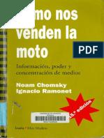 Como Nos Venden La Moto Noam Chomsky Ignacio Ramonet