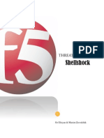 Shellshock Threat Intelligence Report