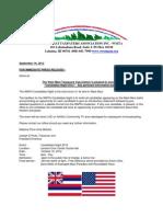 press release - 9-18-2012 - wmta candidates night