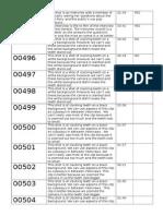 Logging Sheet 2