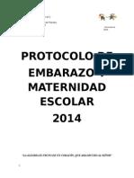 Protocolo Embarazo y Maternidad de Estudiantes