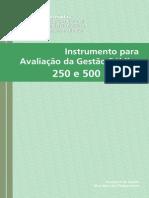 Gestão Pública Para Excelência- Instrumento Para Avaliação- IMPORTANTE