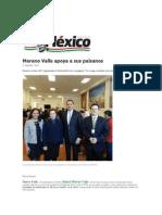 09-03-2015 Diario de México Ed, USA - Moreno Valle Apoya a Sus Paisanos