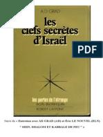 Les Clefs Secretes d Israel