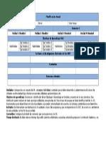 Planificación Anual 2015