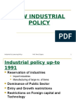 Industrial & Licensing Policy
