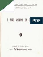 A. D. Sertillanges - O Mito Moderno Da Ciência