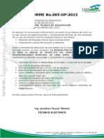 Informe#5 Impresora 3d