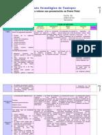 Rubrica Para Evaluar Presentaciones en Ppt