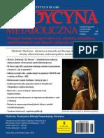 Medycyna Metaboliczna - 2015, tom XIX, nr 1