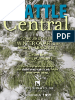 Seattle Central Winter Class Catalog 2015