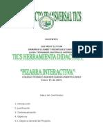 PROYECTO TRANSVERSALIZADO DE TECNOLOGIA