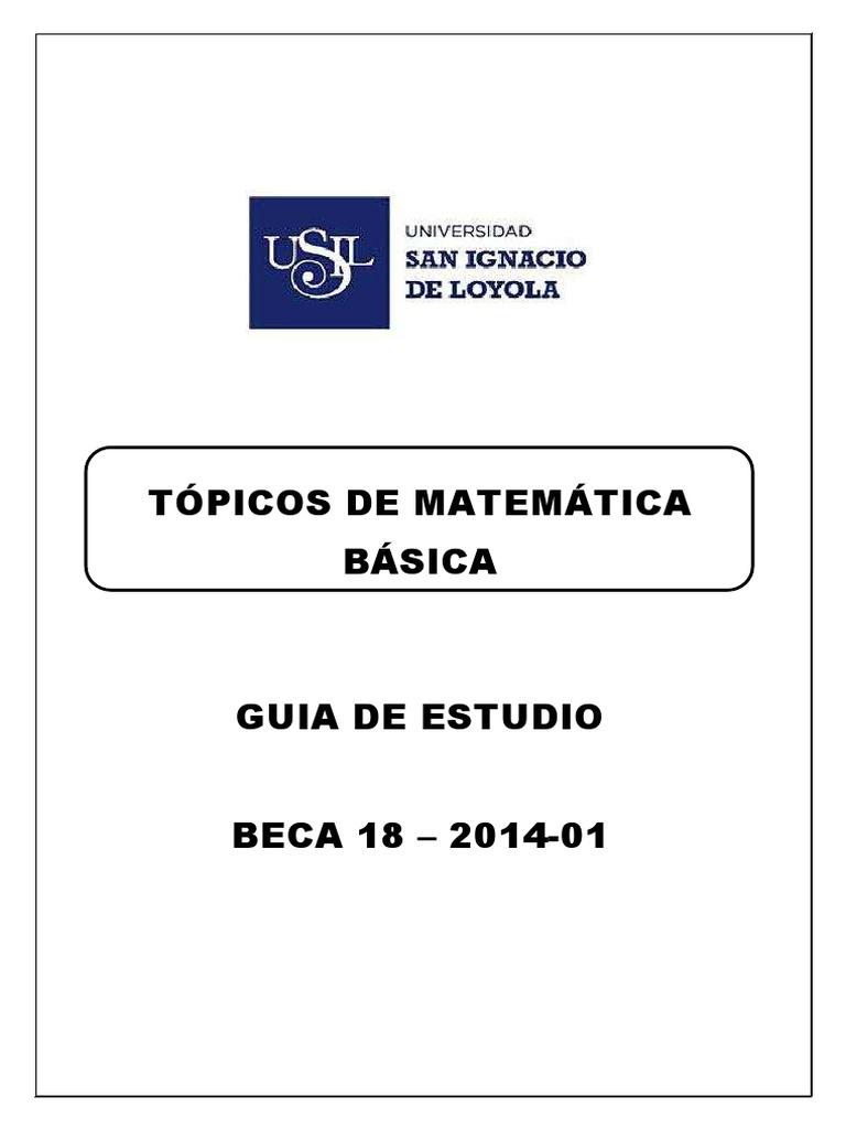 Topicos de matematicas-ejercicios.pdf 525d10db5ca