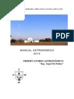 Manual2015-Efermerides Astronomicas-Observatorio de Mercedes