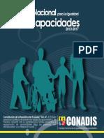 Agenda Nacional Discapacidades