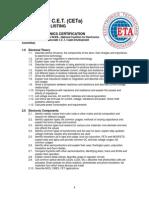 ETAi Study Guide