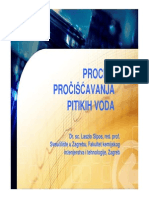 Procesi Procissavanja Podzemnih Voda 2010