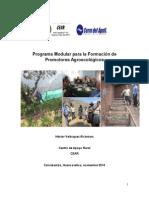 Programa Modular de Formación Promotores