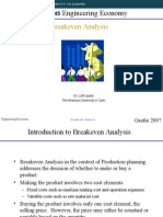 Breakeven Analysis.ppt