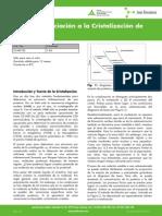 Cristalizacion de Proteinas