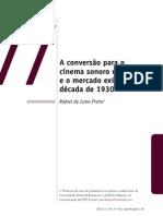 A Conversão para o Cinema Sonoro no Brasil