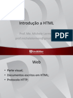 Aula 1- Introdução a HTML