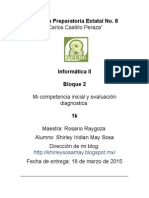 Mi Competencia Inicial May Shirley