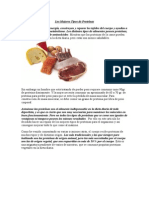 Los Mejores Tipos de Proteínas