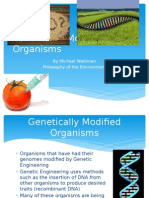 Genetically Modified Organisms
