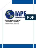 Modelo Educatvo Iape 18 Sept