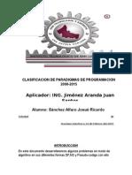 Sanchez Alfaro Josue Ricardo PRACTICAS Algoritmos